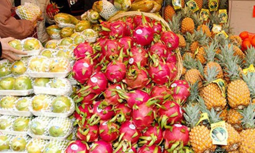 Vietnamese fruits and vegetables