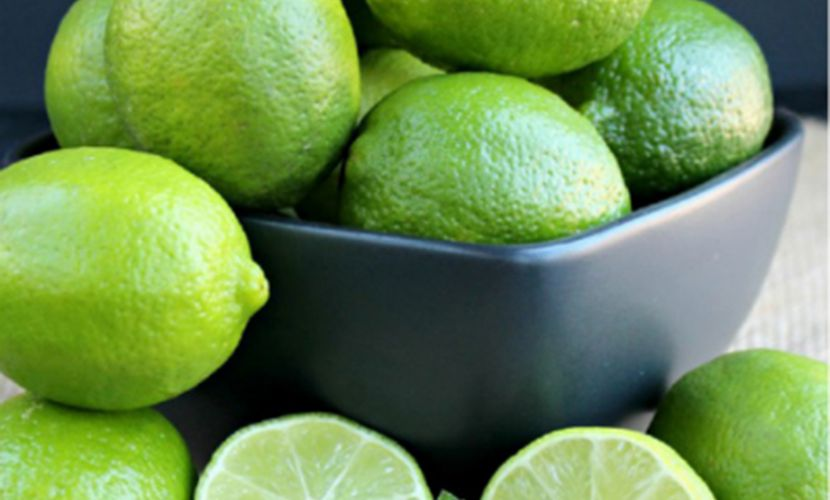 Clean seedless lime from Vietnam