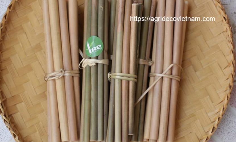 Vietnamese bamboo straws