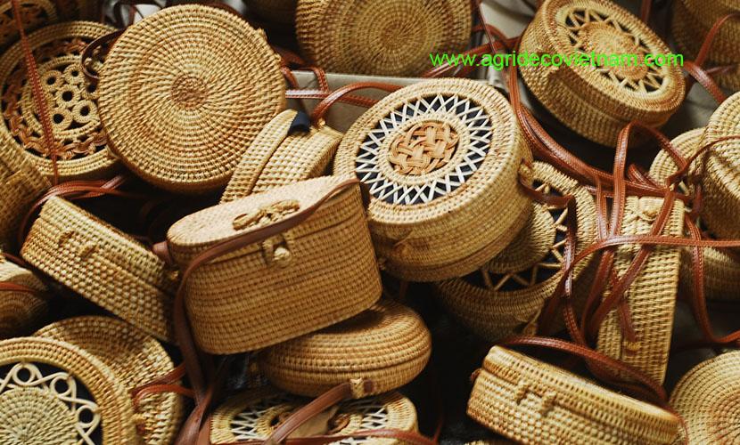 Vietnam handicrafts: Rattan products