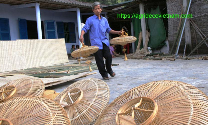 Bao La bamboo and rattan craft village