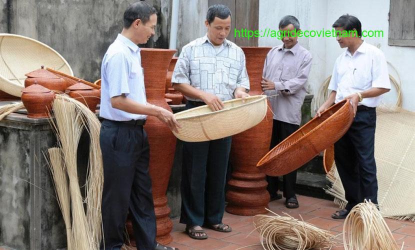 Lien Khe bamboo and rattan village