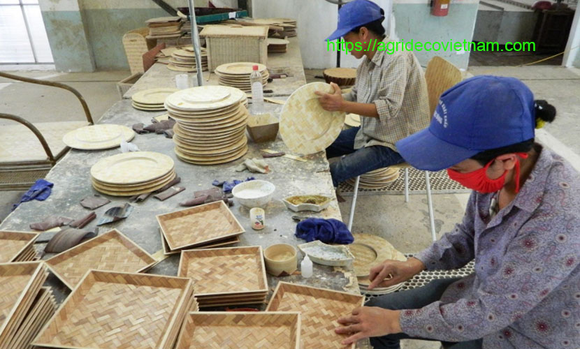 Ngoc Dong bamboo and rattan craft products