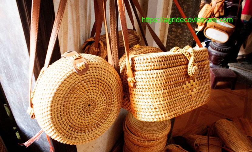 Phu Vinh bamboo and rattan craft products