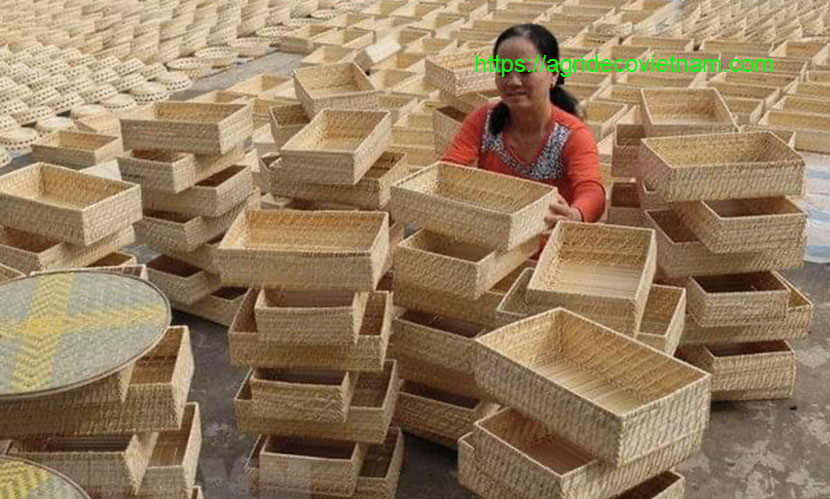 Vietnam handicraft exports: sedge products