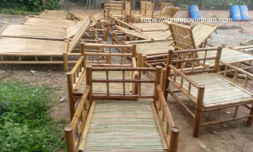 Vietnamese rattan and bamboo products